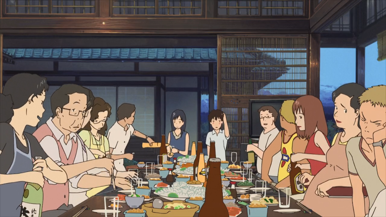 Family life in Summer Wars.